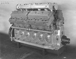 Paxman RQ Motor Pistón