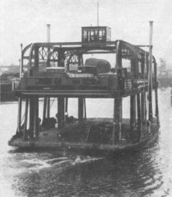 Clyde Navigation Trust Vehicular Ferry No 4
