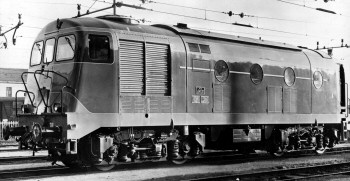 Italian Railways, Class 341 in December 1958
