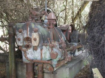 Gas Engine No 18540, as found