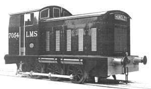 LMS locomotive 7054