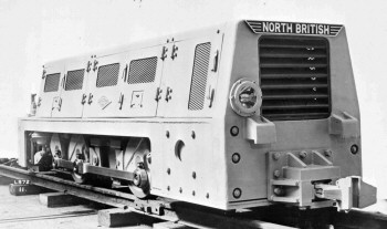 North British Miner Locomotive