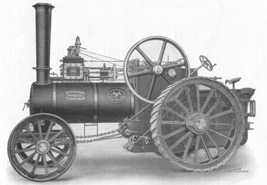 Paxman Traction Engine