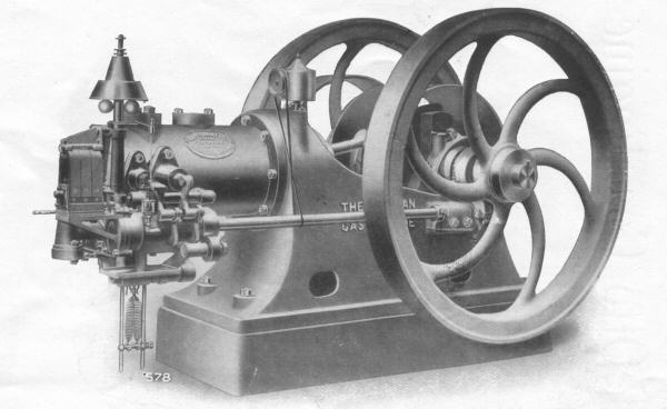 26 bhp Gas Engine - magneto ignition