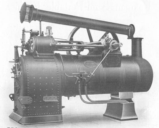 Semi-Portable Engine